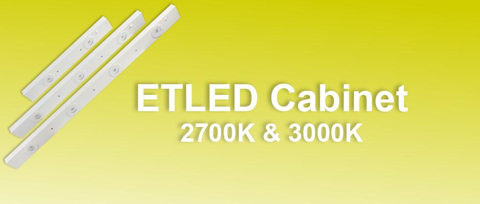 ETLED Cabinet underskåpsbelysning