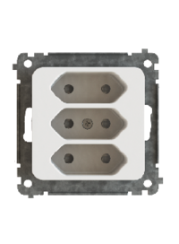 UTTAG 3-V EURO UTAN RAM