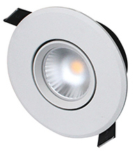 DOWNLIGHT 6,5W 3000K MW TILT