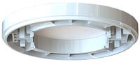 Förhöjningsring DCL 10 mm vit