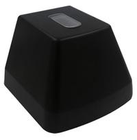 Fasadarm svart 2xGU10 + 2xVU