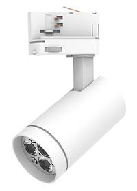 Tracklight 3-fas LED GU10 vit