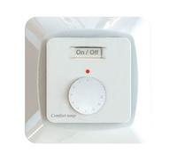 Termostat elektronisk inf vit