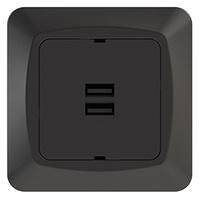 USB-uttag 2-v 3,4A 5V inf sv